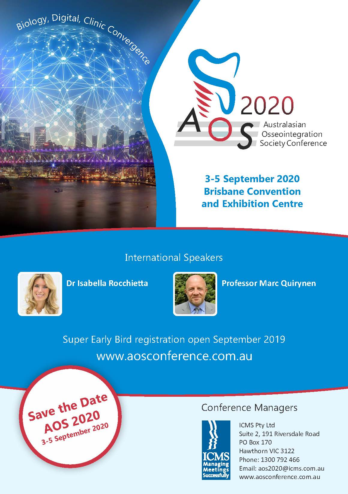 AOS 2020 Biennial Conference - Cancelled